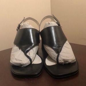 Black Nine West heel
